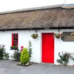Gallagher's:  Dining in a thatched cottage